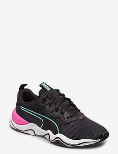 Zone XT Wns - løbesko - puma black-puma white-luminous pink