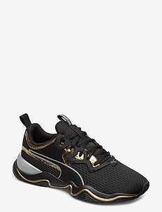 Zone XT Metal Wn's - træningssko - puma black-gold