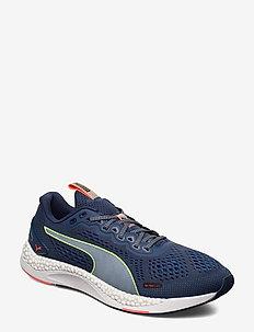 SPEED 600 2 - chaussures de course - dark denim-palace blue-yellow alert