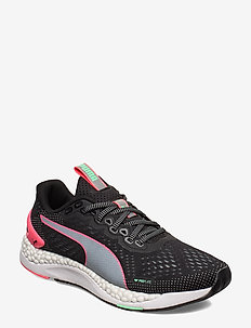 SPEED 600 2 Wn's - running shoes - puma black-ignite pink