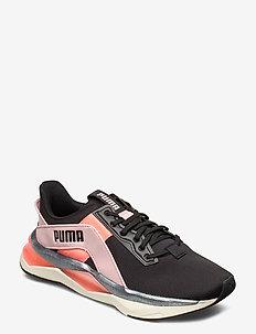 LQDCELL Shatter XT Geo Pearl Wns - sneakersy niskie - puma black-peachskin-nrgy peach