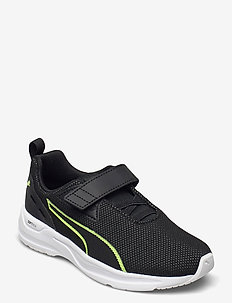 Comet 2 FS V PS - schuhe - puma black-fizzy yellow-puma white