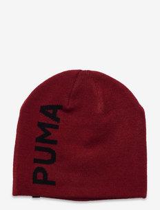 Ess Classic Cuffless Beanie - huer - intense red-puma black