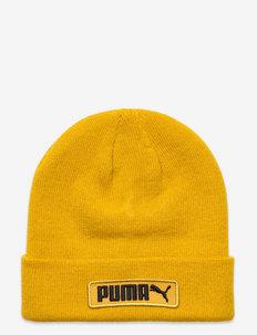 PUMA Classic Cuff Beanie - bonnets - mineral yellow