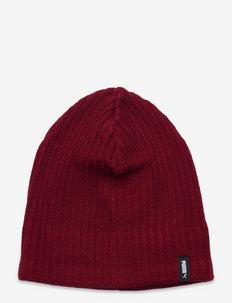 Active Slouchy Cuffless Beanie - kapelusze - intense red