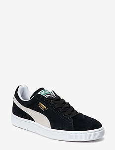 Suede Classic+ - laag - black-white