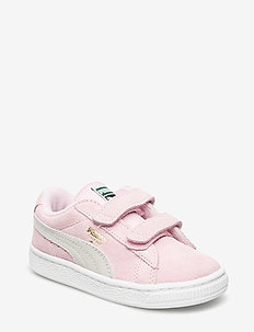 Suede 2 straps Inf - PINK LADY-PUMA TEAM GOLD