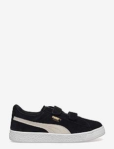 Suede 2 straps PS - PUMA BLACK-PUMA WHITE