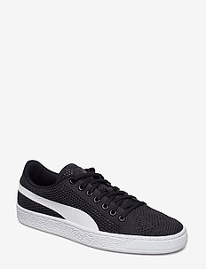 Basket Classic evoKNIT - lave sneakers - puma black-puma white
