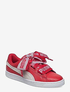 Basket Heart DE Wn's - low top sneakers - toreador-puma white