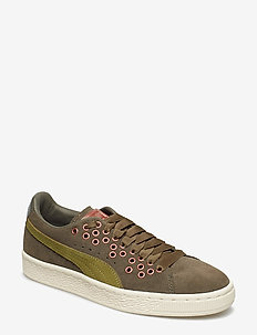 Suede XL Lace VR Wn's - low top sneakers - olive night-avocado