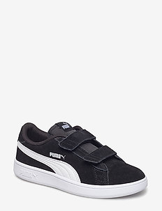 Puma Smash v2 SD V PS - PUMA BLACK-PUMA WHITE