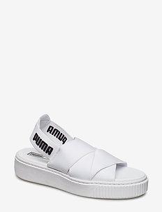 PUMA Platform Sandal Wn's - PUMA WHITE-PUMA WHITE