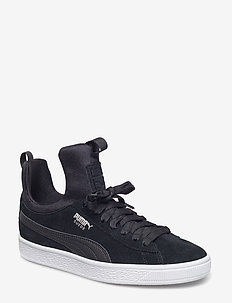 Suede Fierce Wn's - låga sneakers - puma black-puma black