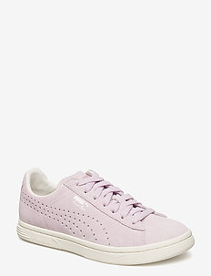 Court Star Suede Interest - WINSOME ORCHID-WHISPER WHITE