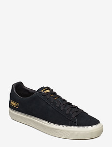 Suede Trim - PUMA BLACK-WHISPER WHITE-PUMA TEAM GOLD