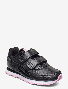Vista Glitz V PS - low tops - puma black-puma black-pale pink
