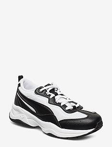 Cilia - sneakers med lav ankel - puma black-puma white-gray violet-p