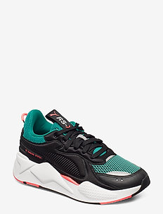 RS-X SOFTCASE - PUMA BLACK-CADMIUM GREEN