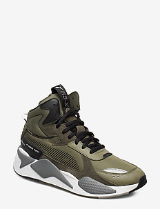 RS-X Midtop Utility - BURNT OLIVE-FOREST NIGHT