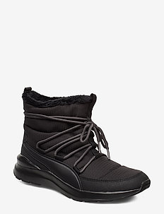 Adela Winter Boot - platta ankelboots - puma black-bridal rose
