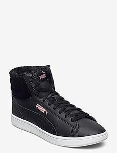 Puma Vikky v2 Mid WTR - hoge sneakers - puma black-bridal rose-puma white
