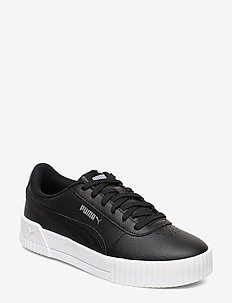 Carina L - low top sneakers - puma black-puma white-puma silver