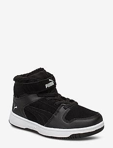 Puma Rebound Layup Fur SD V PS - PUMA BLACK-PUMA WHITE