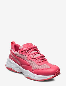 Cilia Jr - training shoes - calypso coral-bridal rose-puma white