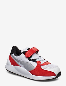RS 9.8 Space AC Inf - buty treningowe - puma white-high risk red