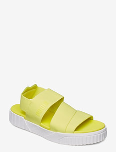 Cali Sandal x SG - SOFT FLUO YELLOW