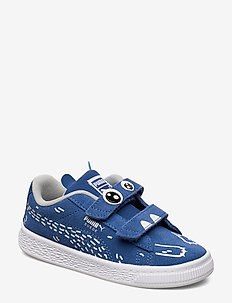 Suede Monster Family V Inf - sneakers - bright cobalt-puma white