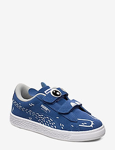 Suede Monster Family V PS - sneakers - bright cobalt-puma white