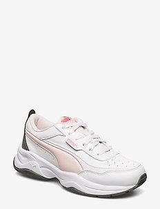 Cilia Mode - chunky sneakers - puma white-rosewater-castlerock-sun