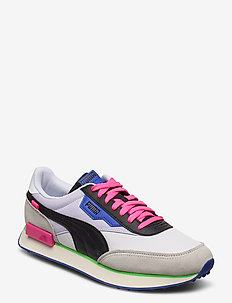 RIDER PLAY ON - lav ankel - puma white-gray violet-puma black