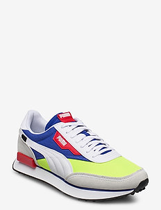 RIDER PLAY ON - laag - puma white-yellow alert