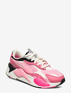RS-X PUZZLE - chunky sneakers - rapture rose-peony-whisper white