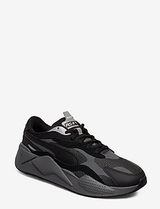 RS-X PUZZLE - chunky sneakers - puma black-castlerock