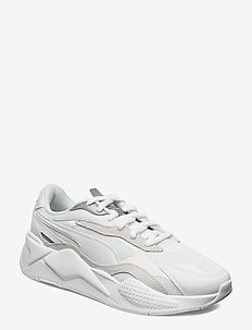 RS-X PUZZLE - chunky sneakers - puma white-puma silver