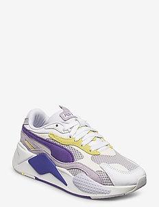 RS-X  Mesh Pop Wn's - låga sneakers - puma white-purple corallites