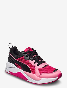 X-Ray Glitch - BRIGHT ROSE-BUBBLEGUM-PUMA BLACK-PU