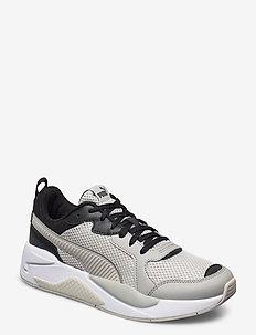 X-Ray Glitch - tenis - gray violet-limestone-puma black-pu