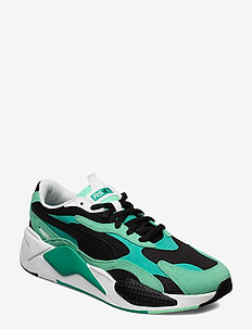 RS-X SUPER - chunky sneakers - green glimmer-puma black