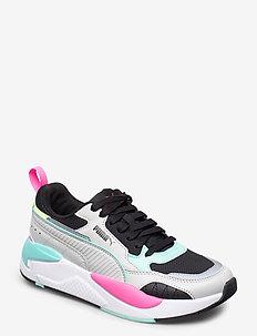 X-Ray 2 Square - sneakersy niskie - gray violet-gray violet-puma black-