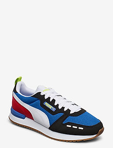 PUMA R78 - låga sneakers - palace blue-puma black-puma white