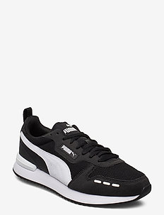 PUMA R78 - matalavartiset tennarit - puma black-puma white