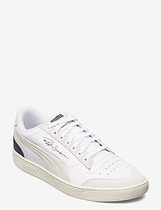 Ralph Sampson Lo Prm - juoksukengät - puma white-peacoat-whisper white