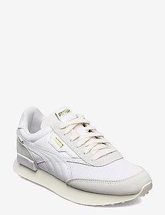 Future Rider Luxe - lage sneakers - puma white-whisper white