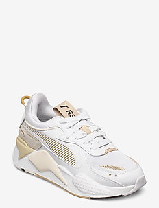 RS-X Mono Metal Wn's - sneakersy niskie - puma white-puma team gold