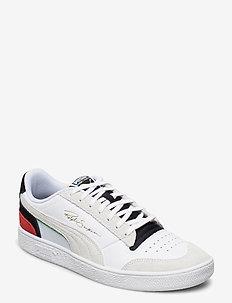 Ralph Sampson Lo Unity - låga sneakers - puma white-puma black-high risk red